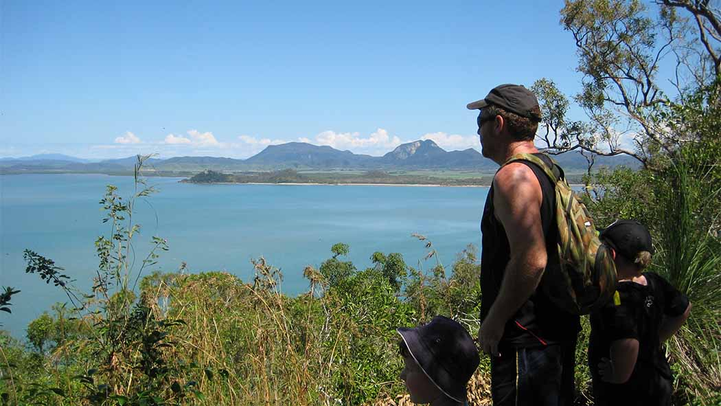 View from Cape Hillsborough to Mackay