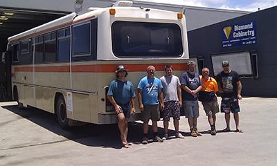 Kelvin, John & the crew at Diamond Cabinetry