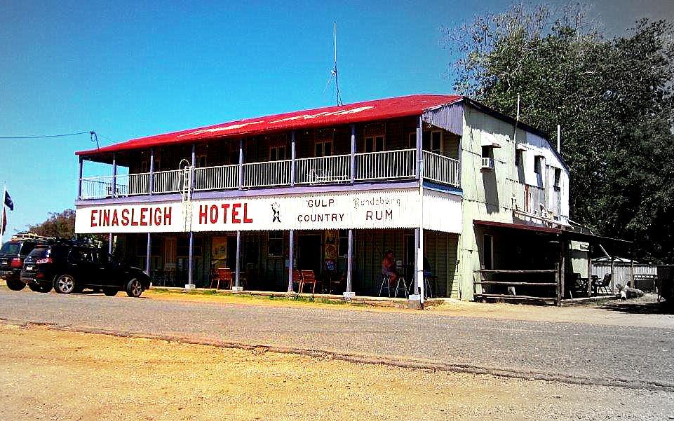 Living The New Australian Dream - Einasleigh Hotel